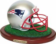 New England Patriots Replica Football Helmet Figurine