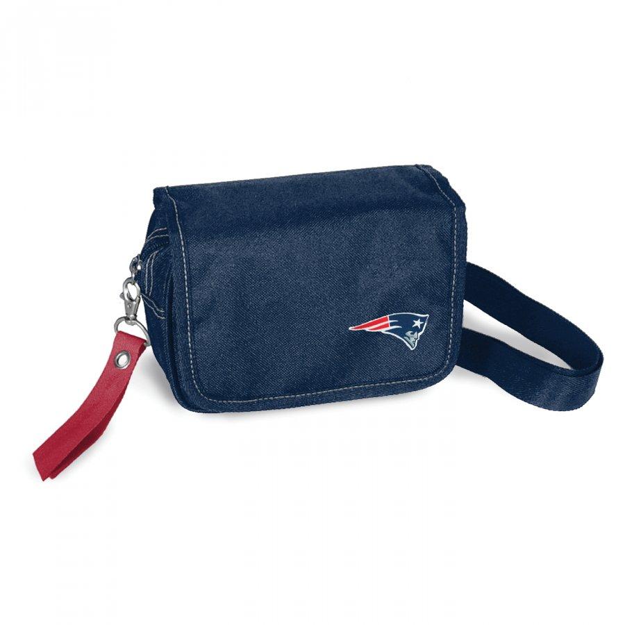 New England Patriots Ribbon Waist Pack Purse