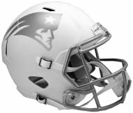 New England Patriots Riddell Speed Replica Ice Football Helmet