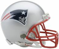 New England Patriots Riddell VSR4 Mini Football Helmet