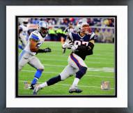 New England Patriots Rob Gronkowski 2014 Action Framed Photo