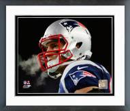 New England Patriots Rob Gronkowski 2014 Playoff Action Framed Photo