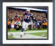 New England Patriots Rob Gronkowski 2015 Action Framed Photo