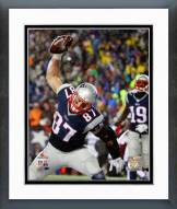 New England Patriots Rob Gronkowski AFC Championship Game 2014 Playoffs Framed Photo