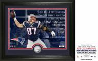 New England Patriots Rob Gronkowski Quote Silver Coin Photo Mint
