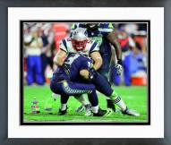 New England Patriots Rob Ninkovich Super Bowl XLIX Action Framed Photo