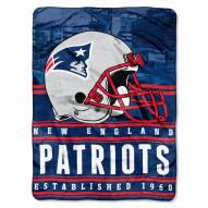 New England Patriots Silk Touch Stacked Blanket