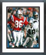 New England Patriots Stanley Morgan Action Framed Photo