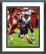 New England Patriots Stevan Ridley 2014 Action Framed Photo