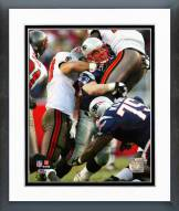 New England Patriots Tedy Bruschi 2005 Action Framed Photo