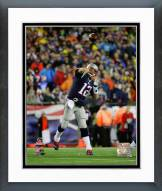 New England Patriots Tom Brady AFC Championship Game Action 2014 Playoffs Framed Photo