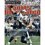 "New England Patriots Tom Brady Sports Illustrated Superbowl 49 16"" x 20"" Photo"