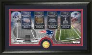 New England Patriots Traditions Bronze Coin Panoramic Photo Mint