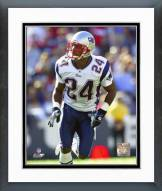 New England Patriots Ty Law 2004 Action Framed Photo