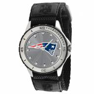New England Patriots Veteran Velcro Mens Watch