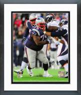 New England Patriots Vince Wilfork 2014 Action Framed Photo