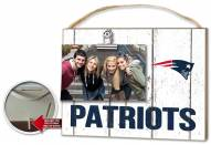 New England Patriots Weathered Logo Photo Frame