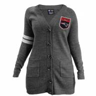 New England Patriots Women's Gray Varsity Cardigan