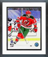 New Jersey Devils Adam Henrique 2014 NHL Stadium Series Framed Photo