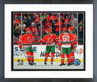 New Jersey Devils Goal Celebration 2014 Framed Photo
