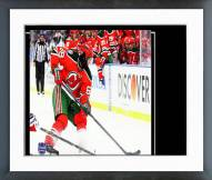 New Jersey Devils Jaromir Jagr 2014 NHL Stadium Series Framed Photo