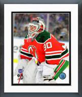 New Jersey Devils Martin Brodeur 2014 NHL Stadium Series Framed Photo