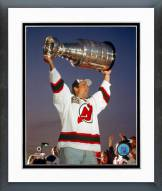 New Jersey Devils Neal Broten with the Stanley Cup Framed Photo