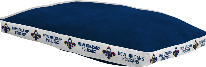 "New Orleans Pelicans 26"""" x 37"""" Dog Bed"