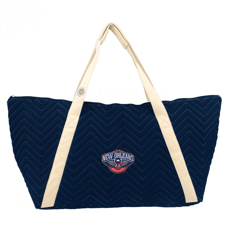 New Orleans Pelicans Chevron Stitch Weekender Bag