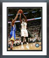 New Orleans Pelicans Jrue Holiday 2014-15 Playoff Action Framed Photo