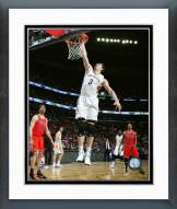 New Orleans Pelicans Omer Asik 2014-15 Action Framed Photo