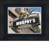 New Orleans Saints 13 x 16 Personalized Framed Sports Pub Print