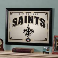 "New Orleans Saints 23"" x 18"" Mirror"