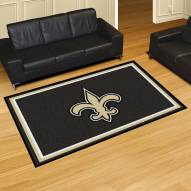 New Orleans Saints 5' x 8' Area Rug