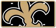 New Orleans Saints Acrylic Mega License Plate