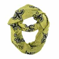 New Orleans Saints Alternate Sheer Infinity Scarf