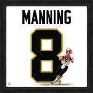 New Orleans Saints Archie Manning Uniframe Framed Jersey Photo