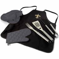 New Orleans Saints BBQ Apron Tote Set