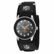 New Orleans Saints Black Rookie Kids Watch