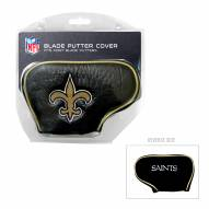 New Orleans Saints Blade Putter Headcover