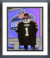 New Orleans Saints Brandon Cooks 2014 NFL Draft #20 Draft Pick Framed Photo