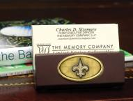 New Orleans Saints Business Card Holder
