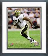 New Orleans Saints Cameron Jordan 2011 Action Framed Photo