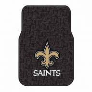 New Orleans Saints Car Floor Mats