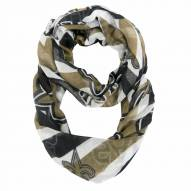 New Orleans Saints Chevron Sheer Infinity Scarf