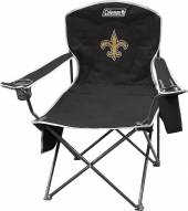 New Orleans Saints Coleman XL Cooler Quad Chair