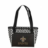 New Orleans Saints Double Diamond Cooler Tote