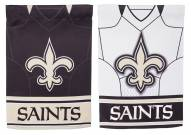 New Orleans Saints Double Sided Jersey Garden Flag