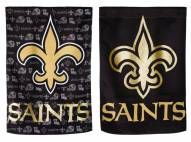 New Orleans Saints Double Sided Glitter Flag