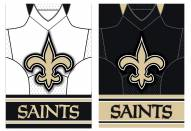 New Orleans Saints Double Sided Jersey Flag